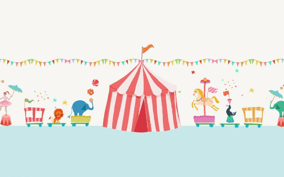 Circus illustrations made on my iPad Pro