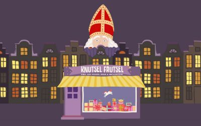 Funny animation starring St.Nicholas for Amsterdam toyshop