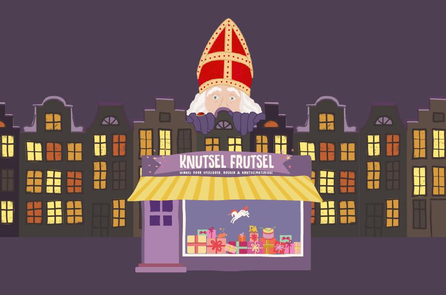Funny animation starring St.Nicholas for Amsterdam toyshop