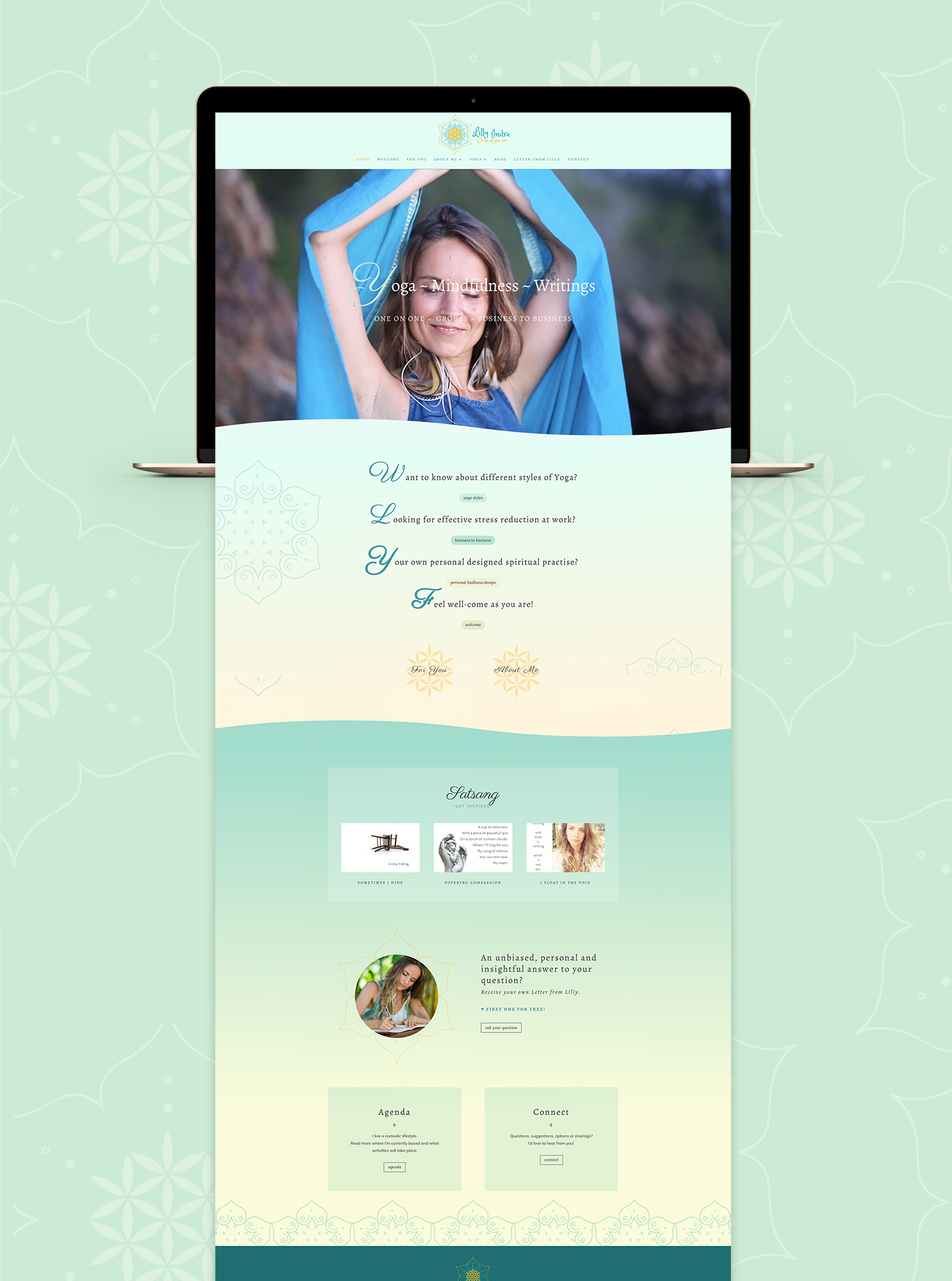 Branding & Website Design for online Pilates School