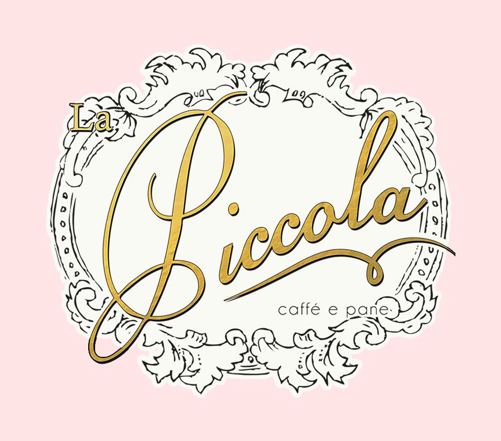 portfolio image for brand design project La Piccola